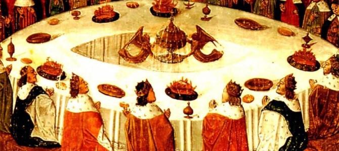 Cena nel Medioevo